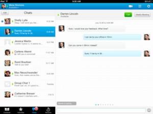 Jabber sur iPad