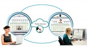 Cisco Jabber Guest est une interface entre votre entreprise et le client