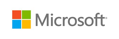 Microsoft parmi nos partenaires technologiques