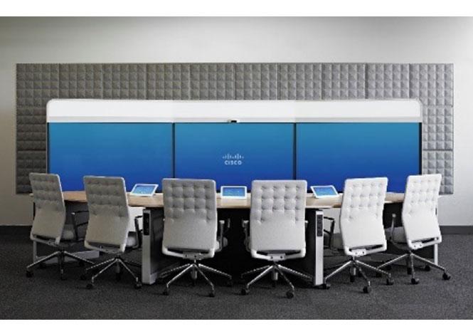 Vidéoconférence Cisco pour salle immersive