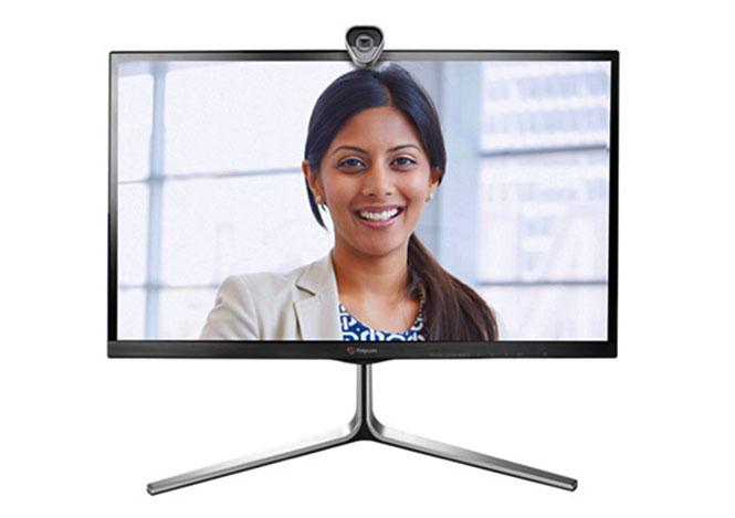 Polycom group videoconferencing