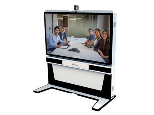Polycom videoconferencing for mid-sized rooms
