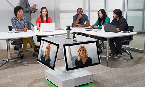 Hybrid-based videoconferencing & collaboration