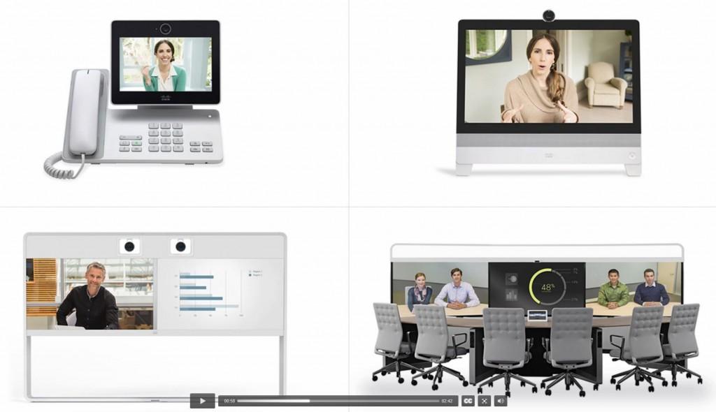 Cisco CMR Des systèmes de visioconférence