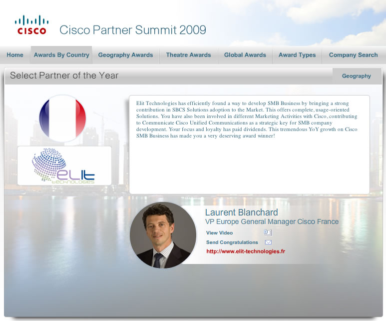 Cisco Partner Summit 2009