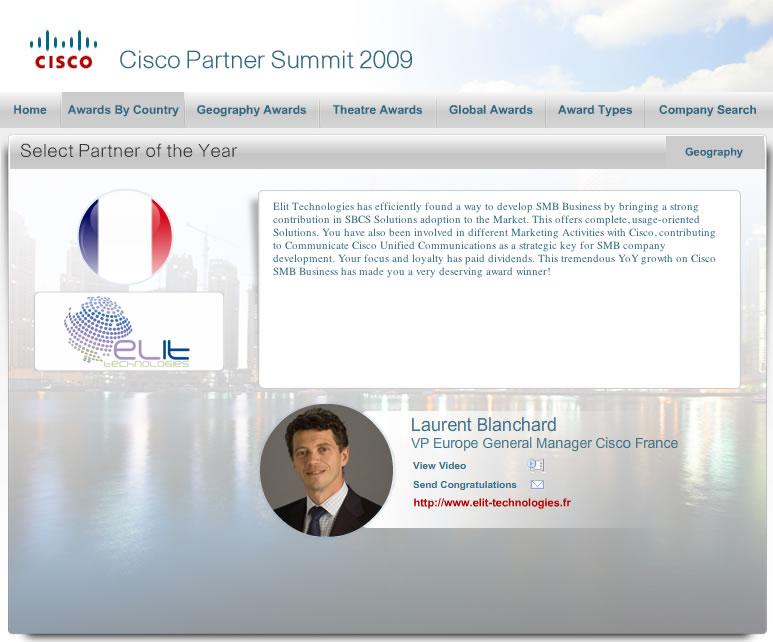 Cisco Partner Summit 2009