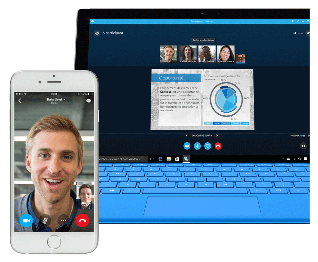 Solutions Skype Entreprise
