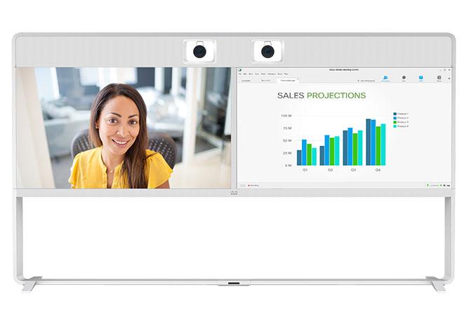 Vidéoconférence Cisco pour grande salle